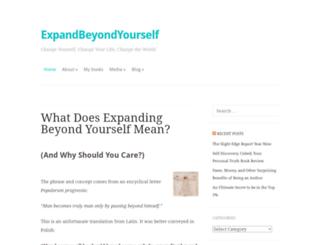 expandbeyondyourself.com screenshot