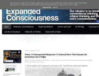expanded--consciousness.blogspot.co.uk screenshot