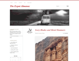 expat-almanac.com screenshot