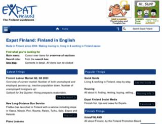 expat-finland.com screenshot