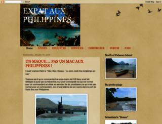expatauxphilippines.blogspot.com screenshot