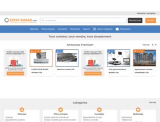 expatdakar.com screenshot