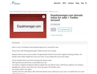 expatmanager.com screenshot