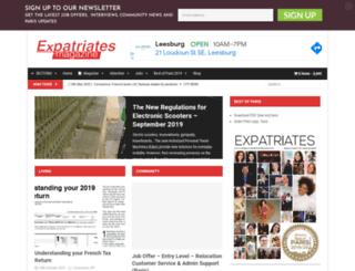 expatriatesmagazine.com screenshot