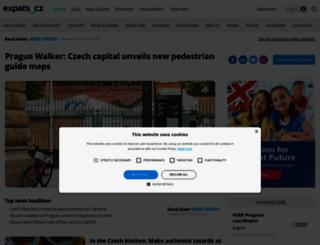 expats.cz screenshot