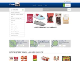 expatshop.co.za screenshot