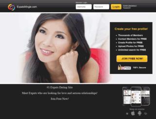 expatsmingle.com screenshot