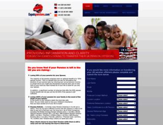 expatspensions.com screenshot