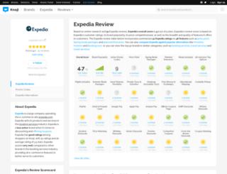 expedia.knoji.com screenshot