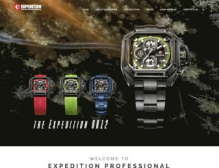 expedition-timepiece.com screenshot
