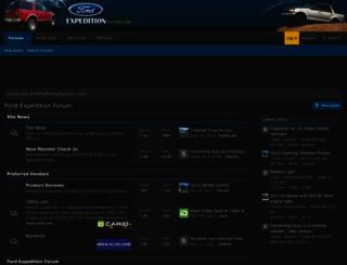 expeditionforum.com screenshot