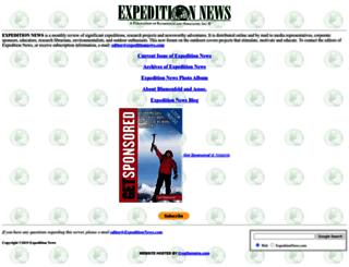 expeditionnews.com screenshot
