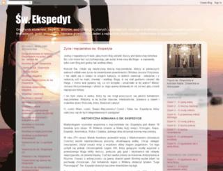 expedyt.blogspot.com screenshot