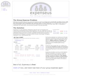 expenseus.com screenshot