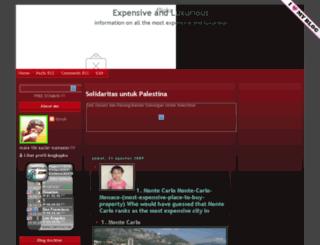 expensive-n-luxurious.blogspot.com screenshot