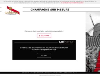 experience-ghmumm.fr screenshot