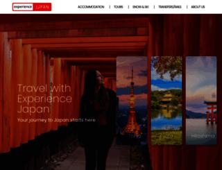 experiencejapan.com.au screenshot