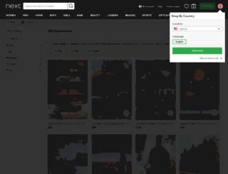 experiences.next.co.uk screenshot