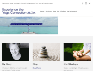 experiencetheyogaconnection.com screenshot