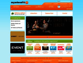 experiencethis.com.au screenshot