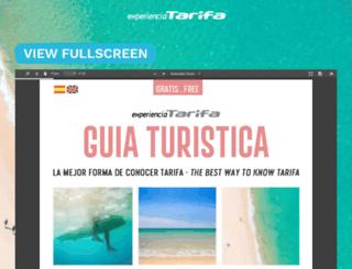 experienciatarifa.com screenshot