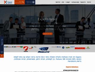 experis.co.il screenshot