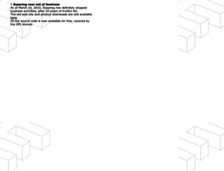 experlog.phpnet.org screenshot