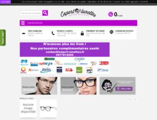 expert-lunettes.fr screenshot