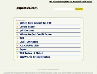 expert20.com screenshot
