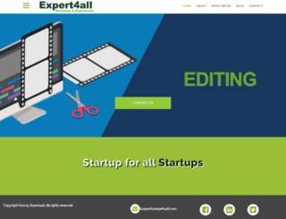 expert4all.com screenshot