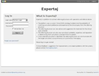expertaj.partners.org screenshot