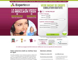 expertaux.fr screenshot