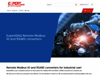 expertdaq.com screenshot