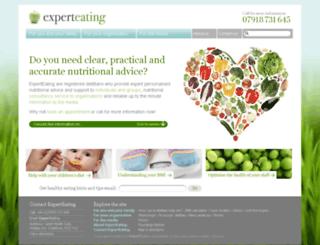 experteating.co.uk screenshot