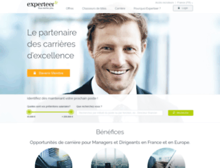 experteer.fr screenshot