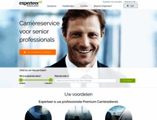 experteer.nl screenshot