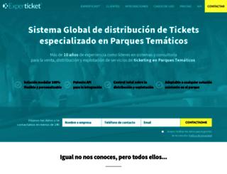experticket.com screenshot