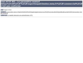 expertisepatrimoine.mma.fr screenshot