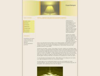 expertlampor.se screenshot