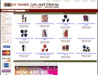 expertmartialartssupply.com screenshot
