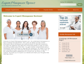 expertmenopausereviews.com screenshot