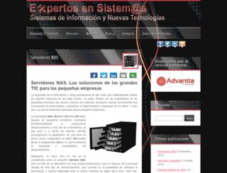 expertosensistemas.com screenshot