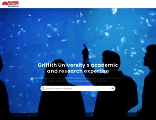 experts.griffith.edu.au screenshot