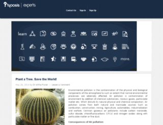 experts.tyoosis.com screenshot