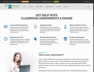 expertsbuzz.com screenshot