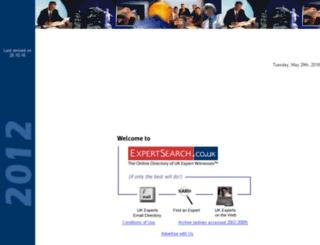expertsearch.co.uk screenshot