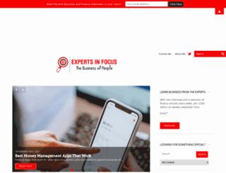expertsinfocus.com screenshot