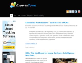 expertstown.com screenshot