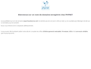 expertsuniverse.net screenshot