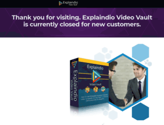explaindiovideovault.com screenshot